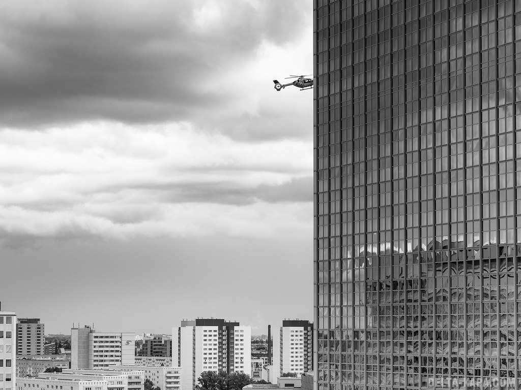 Helicopter, Alexanderplatz - Berlin