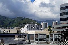 Ala Moana (Guy: Jussum Guy) Tags: sky mountains clouds hawaii solar rooftops oahu honolulu panels alamoana pentaxk30