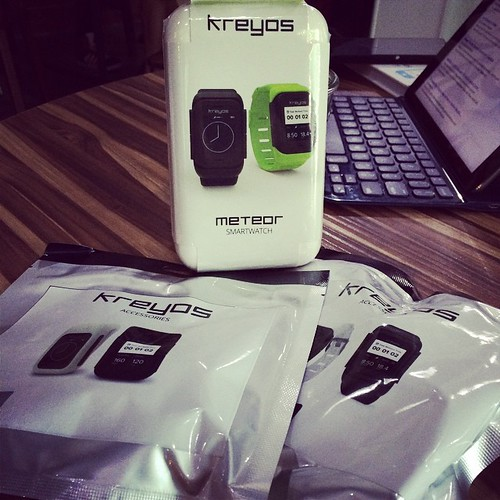 Took it's time. But finally got my @mykreyos. @indiegogo