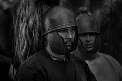Bundan Celtic Festival di Stellata di Bondeno, Italia (maiaphoto) Tags: white black festival nikon italia armor knight celtic portret bundan