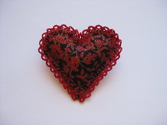 Heart Brooch (ONE by one) Tags: heart handmade brooch brooches 2014 onebyone
