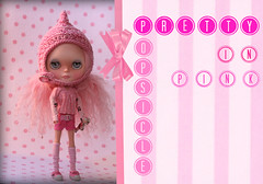 Blythe A Day ~ August 2014 ~ Day 24:  Pretty in PINK