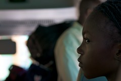 Girl on bus (JP Theberge) Tags: art haiti amputees challengedathletes