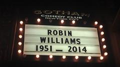 Tribute (vernnyc) Tags: robin comedy williams gotham