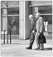 Everlasting Friendship (Xerethra) Tags: old people blackandwhite bw men 35mm geotagged spring nikon europa europe friendship sweden skandinavien may sverige scandinavia sollentuna maj vår svartvitt 2013 stockholmslän nikond80 allfarvägen allfarvägensollentunastockholmslänsverige