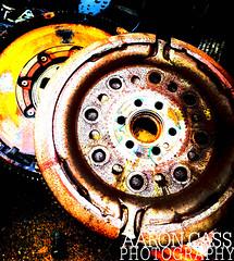 Gears (Cass photo) Tags: old shadow colour car rust mechanical gear rubbish