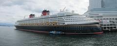 Disney Cruise Ship (Stephen Rees) Tags: vancouver wonder disney explore cruiseship 255
