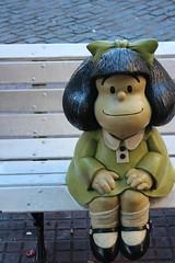 Mafalda (Mandy Canhestro) Tags: buenosaires cartoon mafalda santelmo