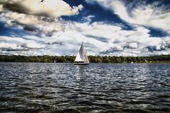 Its Not Far To Paradise - Kent Lake, Kensington  Metro Park (J.M.Barclay) Tags: lake landscape sailing michigan sail pure