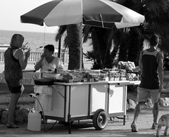 Street-hawker (ejb2307) Tags: street woman dog man women sale cigarette smoke nuts peanuts smoking parasol sales selling sigaret hawker roken streethawker noten verkoop verkopen