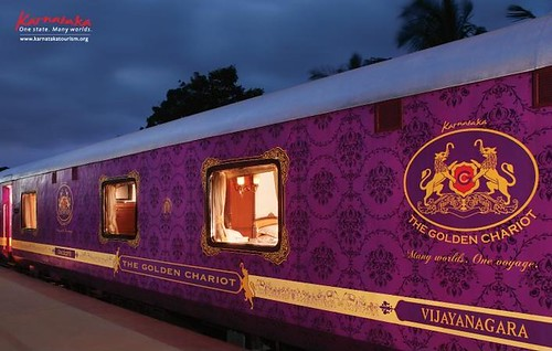 The Golden Chariot - Luxury Train, India
