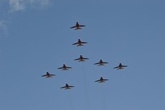 Red Arrows - Dawlish Airshow 2014 (pgosling1979) Tags: red airshow arrows years 50 excellence 2014 dawlish rafat