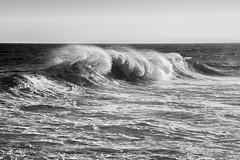 Wave Photography- B&W (AMaleki) Tags: ocean seascape surf newportbeach orangecounty thewedge