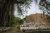 Temple View2 (Freeze the moments!) Tags: old trees people mountain green nature statue temple madurai pillayar samanarmalai nagamalai vasanthjune keelakuyilkudi