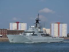 HMS Severn (Megashorts) Tags: olympus omd em10 mzd 40150mm hmssevern royalnavy riverclass patrolvessel p282 offshore ship warship navy portsmouth hampshire england uk solent patrolboat em10mk1 em10mki
