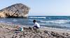 Monsul (felipemadroñal) Tags: sea summer spain personas almeria cabodegata playademonsul vacaciones2014