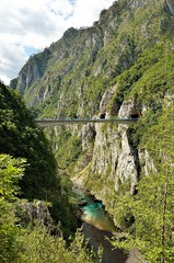 Plivsko Canyon, close to the border with Bosnia & Herzegovina [Durmitor NP / Montenegro] (babakotoeu) Tags: park hiking negro national monte montenegro durmitor