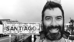 Happy (justinbweiss) Tags: santiago saint way james camino galicia jacques pilgrimage chemin pilgrim peregrino navarra pyranees