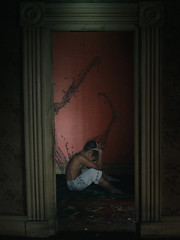 Possmind (Aaroncillo) Tags: art illustration digital photomanipulation photoshop dark photo pain foto arte darkness fear ghost creative surreal manipulation manipulacion ps nightmare conceptual fantasma miedo dolor possessed ilustracion oscuridad oscuro surrealismo espiritu creativo poseido aaroncillo aarongil