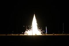 Nighttime Sparky (Wolfram Burner)