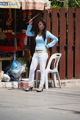 dsc00884 (themax2) Tags: girl candid thai heels 2009 vacanze streetshot