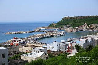 Peaceful fishing port