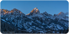 Winter Dawn Over The Tetons (LeAnn Yeates2011) Tags: winter mountains nature dawn landscapes grandtetons tetons grandtetonnationalpark grandtetonrange