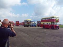 AEC Routemaster '60' Parade @ Showbus 2014 (Andy Reeve-Smith) Tags: parade duxford routemaster cambridgeshire 60 lt parkroyal londontransport 2014 aec showbus showbus2014