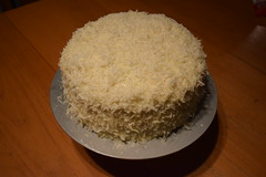 Ellen's Coconut Cake (jjldickinson) Tags: nikond3300 100d3300 nikon1855mmf3556gvriiafsdxnikkor promaster52mmdigitalhdprotectionfilter wrigley food dessert cooking cake gateau coconut longbeach