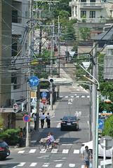 nagoya12459 (tanayan) Tags: road street urban japan town alley nikon cityscape nagoya   aichi slope j1  chikusa