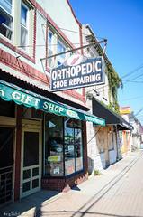 Orthopedic Shoe Repairing - Vintage Signs - II (RGL_Photography) Tags: newjersey mainstreet unitedstates signage monmouthcounty belmar lakecomo jerseyshore shoerepair vintagesigns themundane signporn nikon18105mmf3556vr nikond7000 orthopedicshoerepair