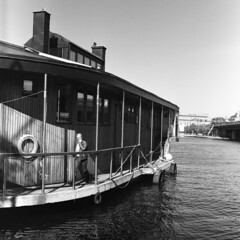 First 120 Roll 008 (Oskar Diehl) Tags: white black film analog sweden stockholm iso bronica 400 epson hp5 medium format v600 sq ilford 80mm zenzanon