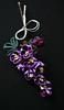 purple lilac 02 (Bright Wish Kanzashi) Tags: flower handmade silk lilac clasic tsumami kanzashi hairornament lilachairwreath