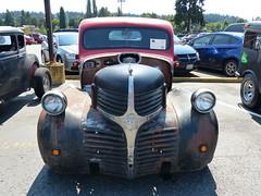 1946 Dodge (bballchico) Tags: 1946 dodge pickup truck donjohnson ratbastardscarshow chopped ratbastardsinfestationcarshow 2014 206 washingtonstate