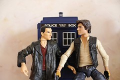 IMG_9045 (Pam~~) Tags: toy solo doctorwho tardis fandom han bluebox hansolo thedoctor bromance whovian