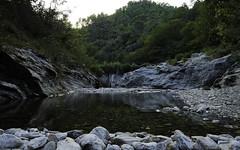 Gardon - Cvennes - 01 (alexandreweber_zootrope) Tags: nature extrieur paysage gardon rivire rives eau eauvive coursdeau cvennes france rochers couchdesoleil