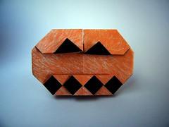 Standing Jack - Francesco Mancini (Rui.Roda) Tags: origami papiroflexia papierfalten pumpkin abobora citrouille halloween standing jack francesco mancini