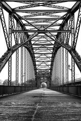 Steel Arch Bridge (michael_hamburg69) Tags: hamburg germany deutschland river fluss elbe elbbrcke bridge alteharburgerelbbrcke 1899 stahlbogenbrcke stahl steel sderelbe sandstein portal hubertstier steelarchbridge