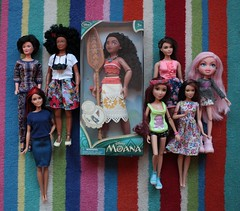 Multicultural Acquisitions (pseudanonymous) Tags: doll dolls disney mattel fashionista barbie cloe bratz mga projectmc2 lammily