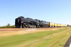 UP 844 @ McRory, AR (Michael Polk) Tags: union pacific 844 mcrory arkansas steam locomotive 484 northern program trek tennessee passenger train