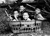 joie enfantine laos (ichauvel) Tags: enfants children kids garçons littleboys young jeunes rires lauhing smiles laos asia southeastasia asie asiedusudest voyage travel exterieur outside jour day panier basket