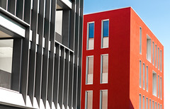 Red end Grey (MatteoPaccagnella) Tags: vicenza architettura architecture building street vicenzaarchitettura