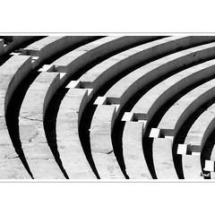 Concentric (horstmall) Tags: theater thatre orange roman römisch antike antique light lumière licht schatten ombre shadow concentric concentrique diagonal diagonale diagonally konzentrisch graphic grafisch graphique provence languedoc france frankreich summer sommer été horstmall