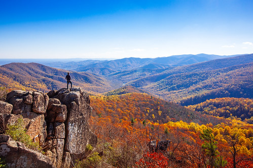 Hiking the interior of Shenandoah National Park