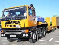 Leyland 320 6x2 Plant Transporter G Wimpey D134YJU Frank Hilton IMG_9239 (Frank Hilton.) Tags: erf foden atkinson ford albion leyland bedford classic truck lorry bus car