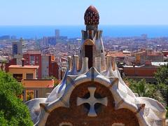 Park Gell (I), Gaudi's masterpiece - Barcelona (jackfre 2) Tags: catalunya spain barcelona park gell antonigaudi parkgell