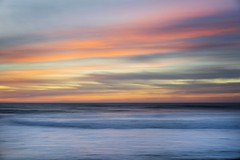 garrapata sunset in motion (hbphototeach) Tags: garrapata garrapatabeach garrapatastatepark bigsur carmel california pacificocean hwy1 seascape landscape landscapephotography naturephotography outdoorphotography scenic sunset panning abstract color simplicity