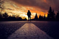 THE END IS NIGH (Bokehschtig (ON/OFF)) Tags: selfie pov lowpov road down below sunset sundown sonnenuntergang silhouette dark lurky murky haunted end theend apocalyptic mood atmoshpere people sony sonya7m2 sonyalpha7 sonya7ii sigmaart2414 sigma 24mm f71 mhldorf waldkraiburg