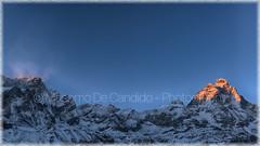 "Mount Cervino (""Max Deca"") Tags: cervino breuilcervinia sunset valledaosta winter cold snow"