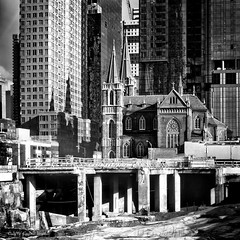 Religion Undermined (CVerwaal) Tags: newyork ny usa churches decay construction architecture sonyrx100iii